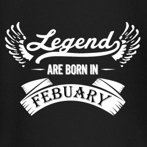 LEGENDS ARE BORN IN FEBRUARY - Baby Langarmshirt