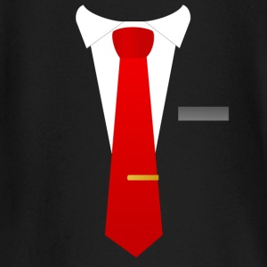 Red tie suit - Baby Long Sleeve T-Shirt