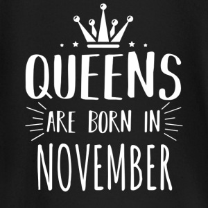 Queen Born November Shirt - Baby Long Sleeve T-Shirt