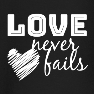 LOVE Never Fails - Baby Long Sleeve T-Shirt