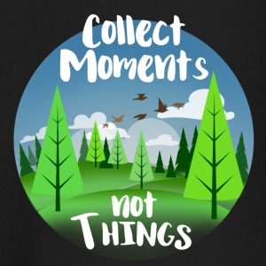 Collect moments not things - Baby Langarmshirt