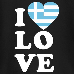 I love Greece - Baby Langarmshirt