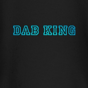 dab dabbing King Football touchdown cool fun sport - Baby Long Sleeve T-Shirt