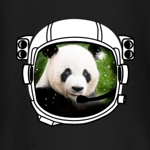 helmet panda Astronaut all above ground hipster - Baby Long Sleeve T-Shirt