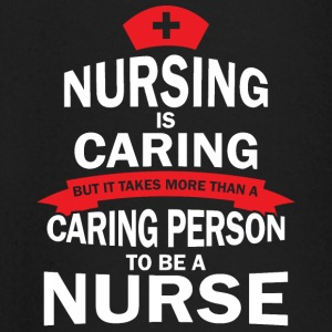 Nursing is zorgzaam - T-shirt