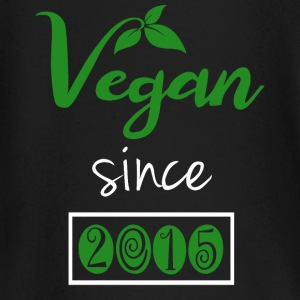 Vegan since 2015 - Baby Long Sleeve T-Shirt