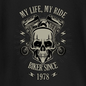 Gift for Biker - Year 1978 - Baby Long Sleeve T-Shirt