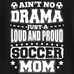 AINT NO DRAMA SOCCER MOM - Baby Long Sleeve T-Shirt