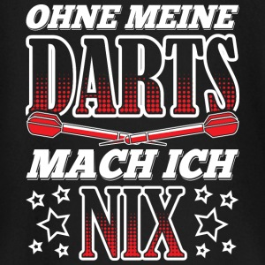 WITHOUT MY DARTS MACH ICH NIX - Baby Long Sleeve T-Shirt