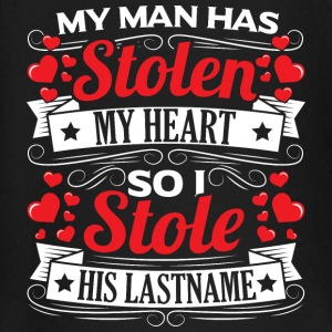 MY MAN HAS STOLEN MY HEART - Baby Long Sleeve T-Shirt