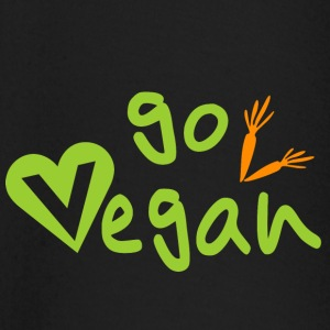 go vegan - Baby Long Sleeve T-Shirt