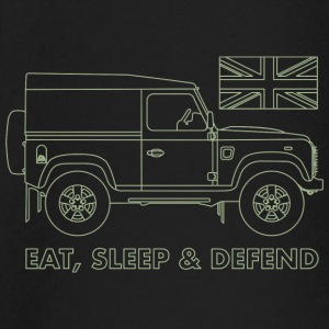 Eat, Sleep & Defend - Baby Long Sleeve T-Shirt