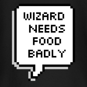 Wizard needs food badly - Baby Long Sleeve T-Shirt