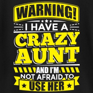 AUNT WARNING CRAZY AUNT - Baby Long Sleeve T-Shirt