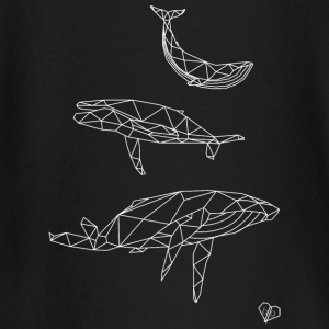 geometric Whales - Baby Long Sleeve T-Shirt