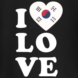 I love South Korea - Baby Long Sleeve T-Shirt