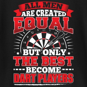 DARTS - ALL MEN ARE CREATED EQUAL - DART PLAYERS - Baby Long Sleeve T-Shirt