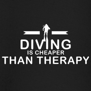 Diving is cheaper than therapy - Baby Long Sleeve T-Shirt