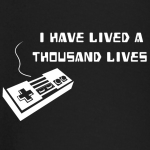 Lived a thousand lives - Baby Langarmshirt