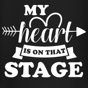 My heart is on stage - Baby Long Sleeve T-Shirt