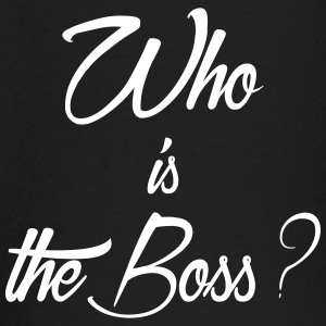 who is the boss - T-shirt manches longues Bébé