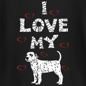Dog Design - I LOVE MY DOG - Langarmet baby-T-skjorte