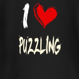 I love puzzles - Baby Long Sleeve T-Shirt