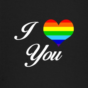 LGBT I LOVE YOU - Baby Langarmshirt