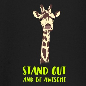 giraffe stand up tall prompt demanding hi - Baby Long Sleeve T-Shirt
