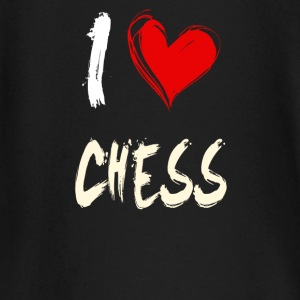 i love chess - Baby Langarmshirt