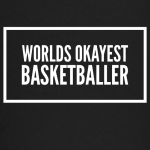 Worlds okayest basketball - Baby Long Sleeve T-Shirt