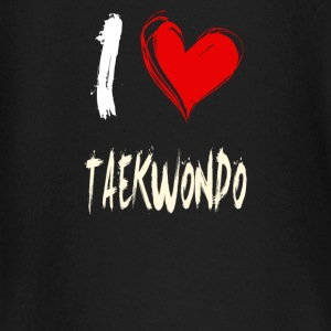 I Love TAEKWONDO - Baby Long Sleeve T-Shirt