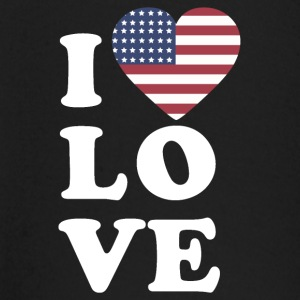 I love USA - Baby Long Sleeve T-Shirt
