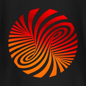 psychedelic circles lsd optical illusion column - Baby Long Sleeve T-Shirt