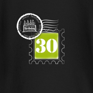 30 years birthday anniversary stamp postal stamp - Baby Long Sleeve T-Shirt