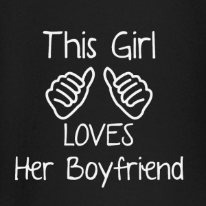 This girl loves her boyfriend - Baby Long Sleeve T-Shirt