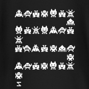 video game gamer pixelart retro console pc nerd LOL - Baby Long Sleeve T-Shirt