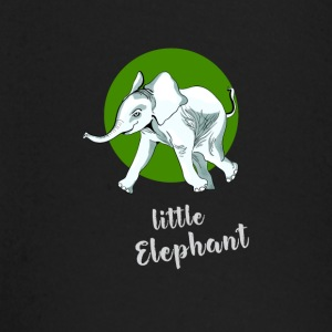 little_elefant baby cute mascot friend ju - Baby Long Sleeve T-Shirt