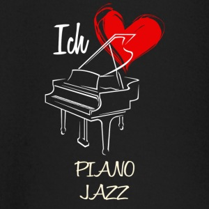 Love Piano Jazz - Baby Long Sleeve T-Shirt