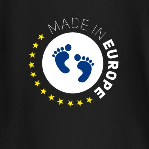 made in Europe EU Love Baby geburt fuß sterne euro - Baby Langarmshirt