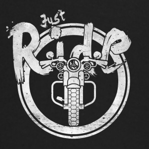 JUST RIDE - lets go - T-shirt
