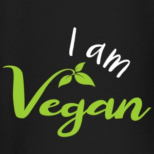 I am a vegan! - Baby Long Sleeve T-Shirt
