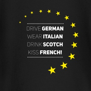 Be Europe Italy Germany frank Love eu stars - Baby Long Sleeve T-Shirt
