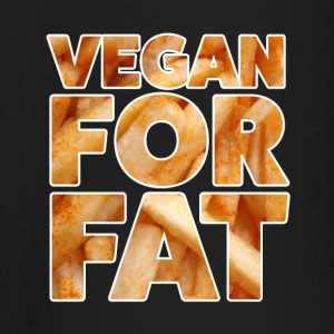 Vegan For Fat | Sjov Design | French bogstaver - Langærmet babyshirt