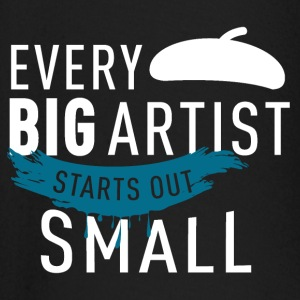 every artist starts small - Baby Long Sleeve T-Shirt