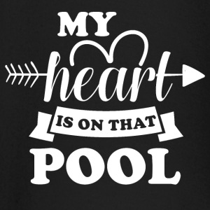 My heart is on that pool - Baby Langarmshirt