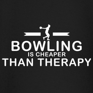 Bowling is goedkoper dan therapie - T-shirt