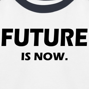 FUTURE IS NOW - Kinder Baseball T-Shirt