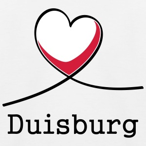 I love Duisburg! - Kids' Baseball T-Shirt