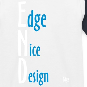 Edge_Nice_Design - Kinder Baseball T-Shirt